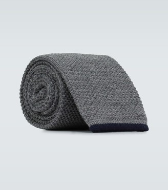 Brunello Cucinelli Wool knitted tie
