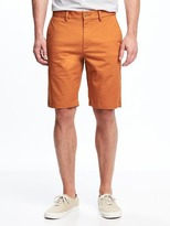 "Old Navy Slim Built-In Flex Ultimate Khaki Shorts for Men (10"")"