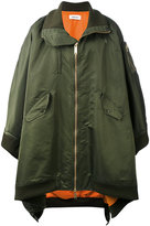 Ambush - MA1 cape coat - men - Acrylic/Nylon/Polyester/Wool - 1