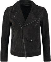 Tiger Of Sweden Jeans Zuko Frin Leather Jacket Black