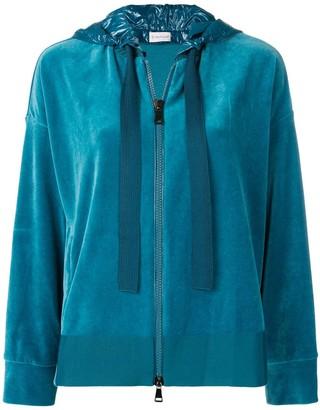 Moncler Zipped Hooded Sweatshirt