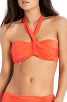 Seafolly Women's Wrap Underwire Bandeau Bikini Top