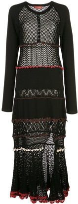 Altuzarra Dogwood knitted dress