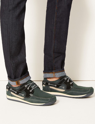 Marks and Spencer Leather Boat Shoes
