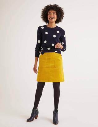 Boden Leonie Cord Mini Skirt