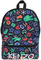 Kenzo Printed Nylon Canvas Backpack