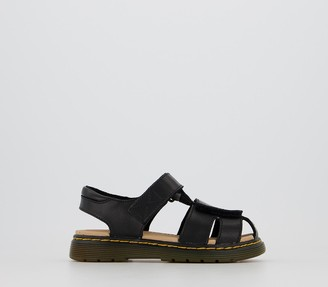 Dr. Martens Moby Sandals Youth Black