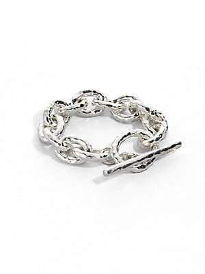Ippolita Glamazon Sterling Silver Bastille Link Bracelet