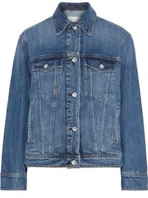 Rag & Bone Classic Trucker Faded Denim Jacket