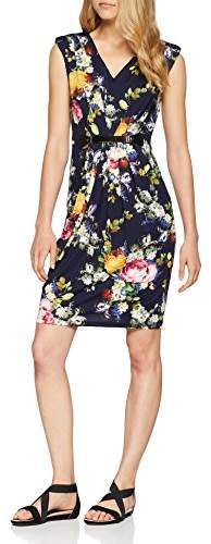 Yumi Women's Printed Belted Dress
