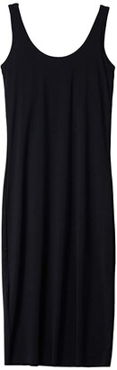 Commando Butter Lifted Low-Back Lounge Dress LGE100 (Black) Women's Clothing