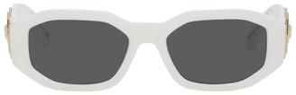 Versace White Medusa Biggie Sunglasses