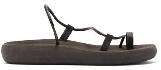 Ancient Greek Sandals Afea Comfort Leather Sandals - Womens - Black