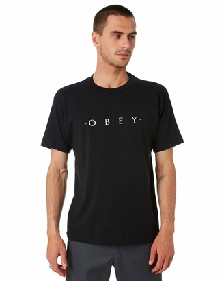 Obey Men's Novel SS Recycled Organic TEE