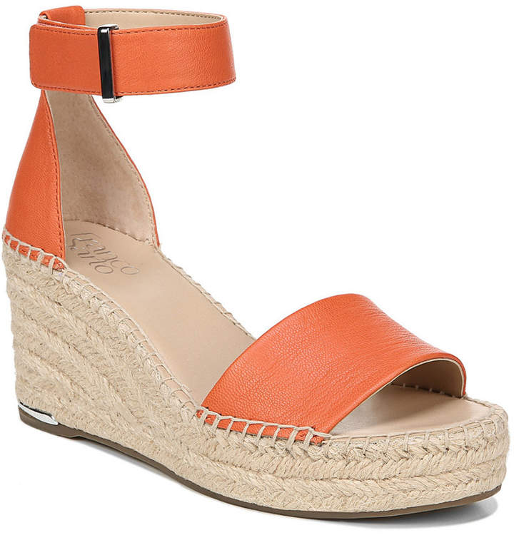 16bffd3c17 Franco Sarto Orange Wedges - ShopStyle
