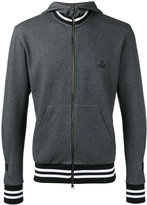 Vivienne Westwood zipped hoodie - men - Cotton/Polyester - S
