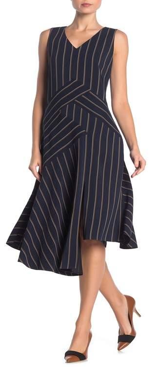 Lafayette 148 New York Ashlena Asymmetrical Drapey Dress