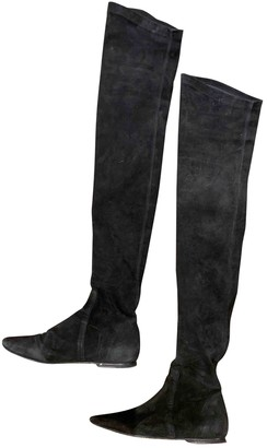 Isabel Marant Black Suede Boots