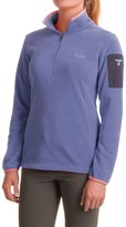 Columbia Titan Pass 1.0 Polartec® Fleece Shirt - Zip Neck, Long Sleeve (For Women)