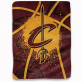"""Northwest Company The Cleveland Cavaliers Shadow Play 60"""" x 80"""" Plush Blanket"""