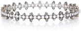 Nam Cho 18K White Gold Diamond and Sapphire Bracelet