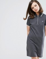 Fred Perry Authentic Twin Tipped Zip Neck Dress