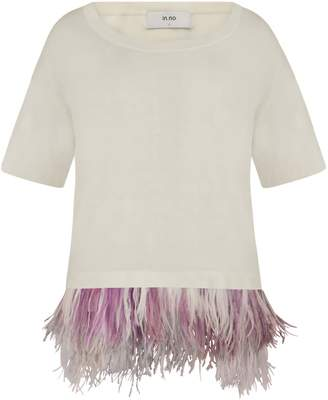 In.No Chalk Adele Feather Tee
