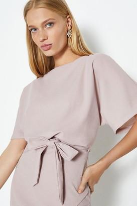 Coast Cape Wrap Hem Dress