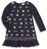 Versace Toddler's, Little Girl's & Big Girl's Graphic-Print Dress