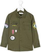 Stella McCartney badges shirt - kids - Cotton/Polyester - 4 yrs