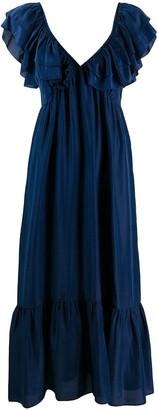 Masscob Ruffle-Trimmed Dress