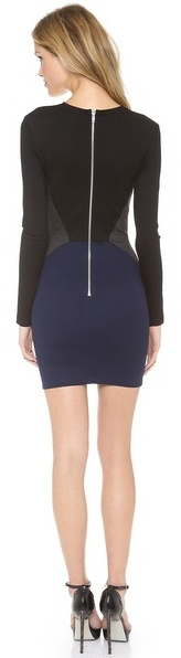 Torn By Ronny Kobo Ivy Colorblock Dress
