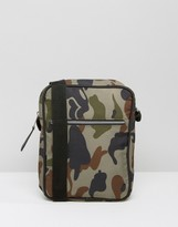 Asos Flight Bag In Camo