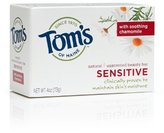Tom's of Maine Natural Moisturizing Bar Sensitive with Chamomile, 4 Ounce Bar, Pack of 6