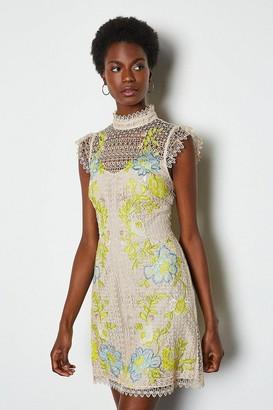 Karen Millen Chemical Lace Dress
