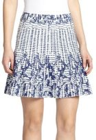 BCBGMAXAZRIA Peyton Printed Knit Skirt