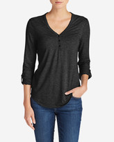 Eddie Bauer Women's Mercer Knit Henley Shirt