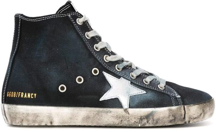 Golden Goose Francy hi-top sneakers
