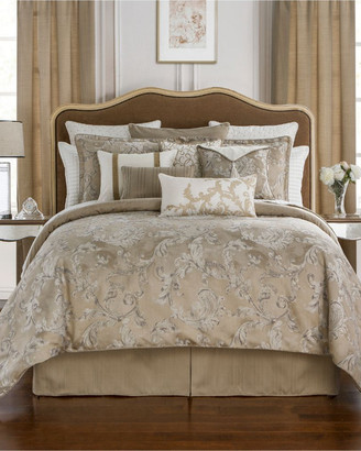 Waterford Chantelle Taupe Comforter Set