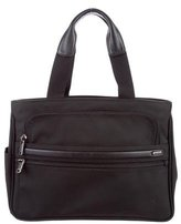 Tumi Leather-Trimmed Nylon Tote
