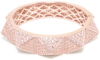Matara Pyramid Bangle in Rose Gold