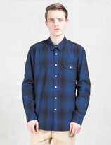 """Saturdays Nyc Reed"""" Ombre L/S Shirt"""
