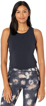 Manduka Pro Tech Fitted Tank Top (Black) Women's Clothing