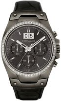 Wittnauer Men's Crystal Leather Chronograph Watch - WN1012