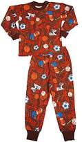 Sara's Prints Little Boys' Long Sleeve Pajamas