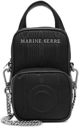 Marine Serre Moire crossbody bag