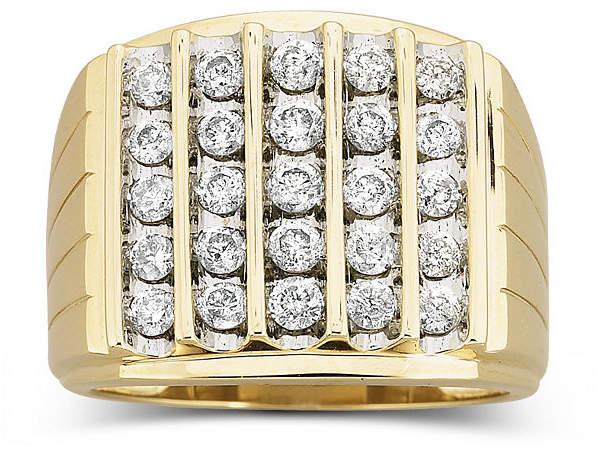JCPenney FINE JEWELRY Men's Diamond Ring 1 1/2 CT. T.W.