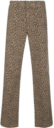 Opening Ceremony x Dickies 1922 leopard print trousers
