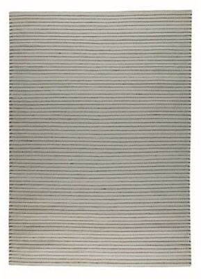 Red Barrel Studio Hoeft Striped Handmade Wool Cotton Gray Area Rug Rug Size Rectangle 4 6 X 6 6 Shopstyle