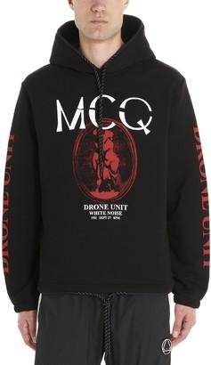 McQ Printed Hoodie